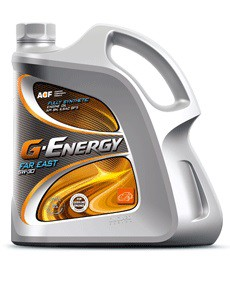 Моторное масло синтетическое G-Energy Far East 10w-30