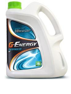 Антифриз Газпром G-Energy  NF 40 сине-зеленый