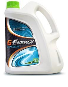 Антифриз Газпром G-Energy 40 зеленый