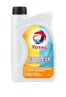 Антифризы и охлаждающие жидкости Total COOLELF AUTO SUPRA -37°C
