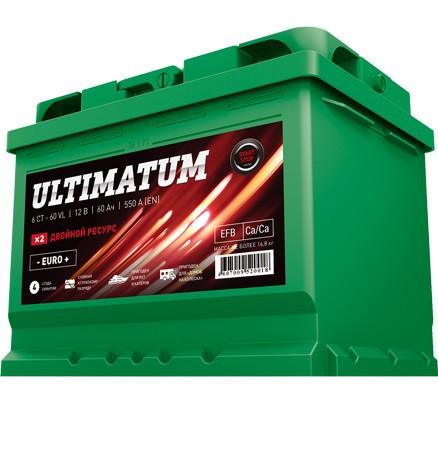 Аккумулятор ULTIMATUM 60