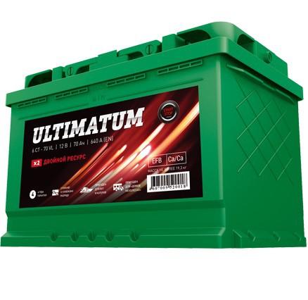 Аккумулятор ULTIMATUM 70