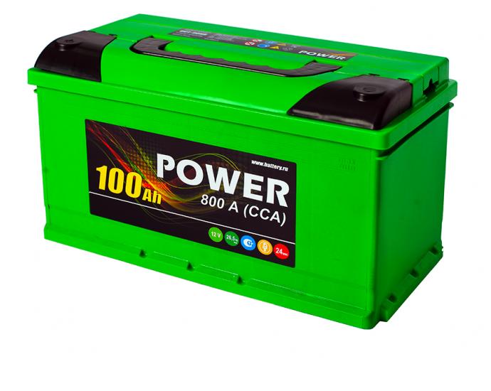 Аккумулятор 6СТ-100 N POWER
