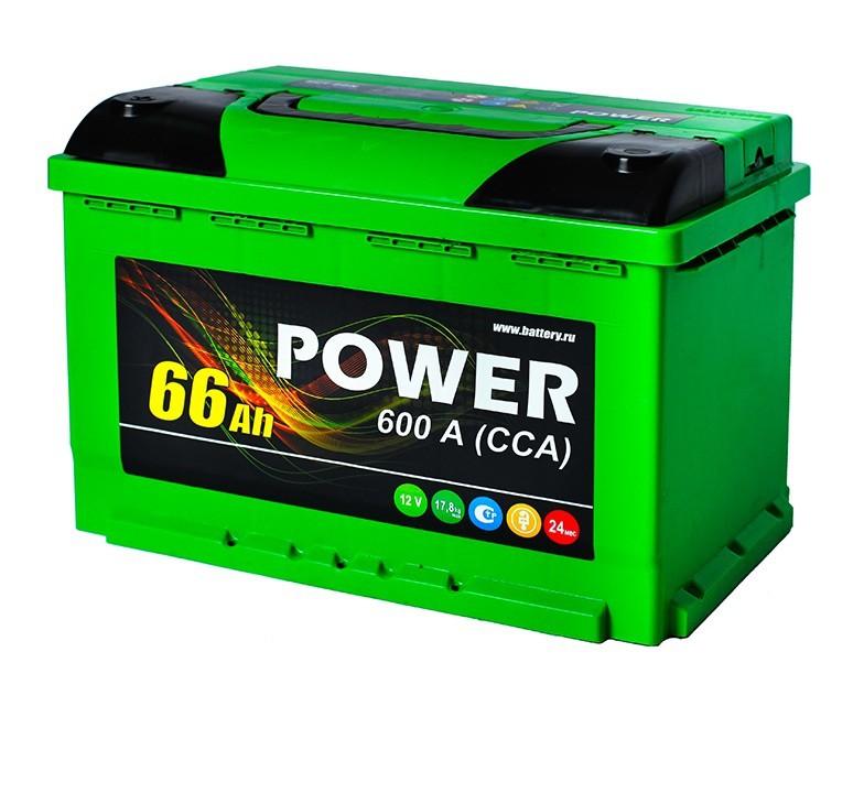 Аккумулятор 6СТ-66 N POWER