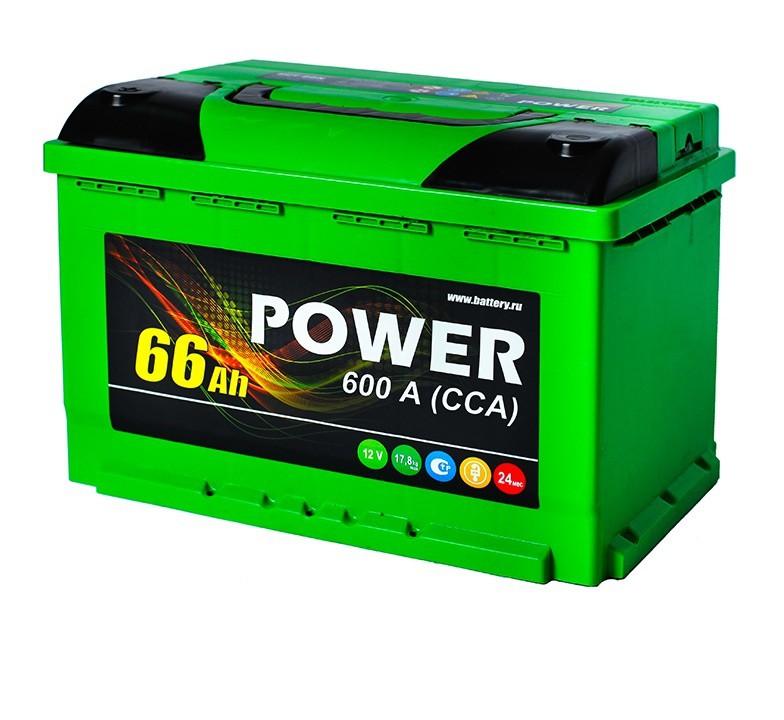 Аккумулятор 6СТ-66 NR POWER