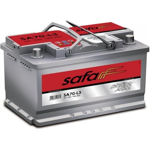 Аккумулятор SAFA Platino 80 оп низк SP80-LB4 (580 406 074)