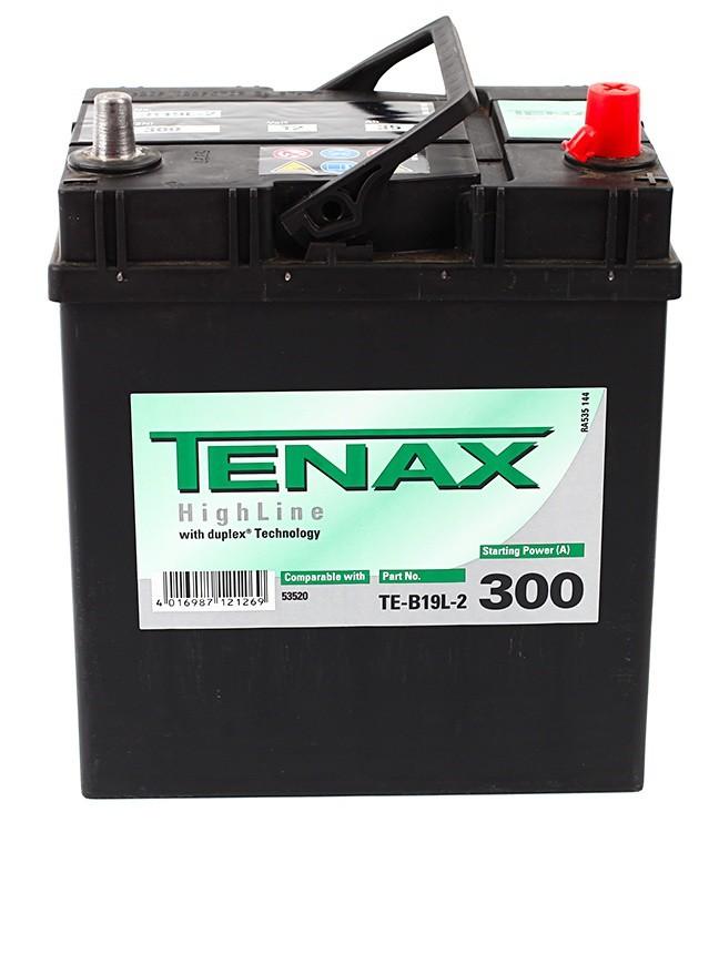 Аккумулятор TENAX HIGH 35е А/ч о.п. TE-B19L-2 выс.