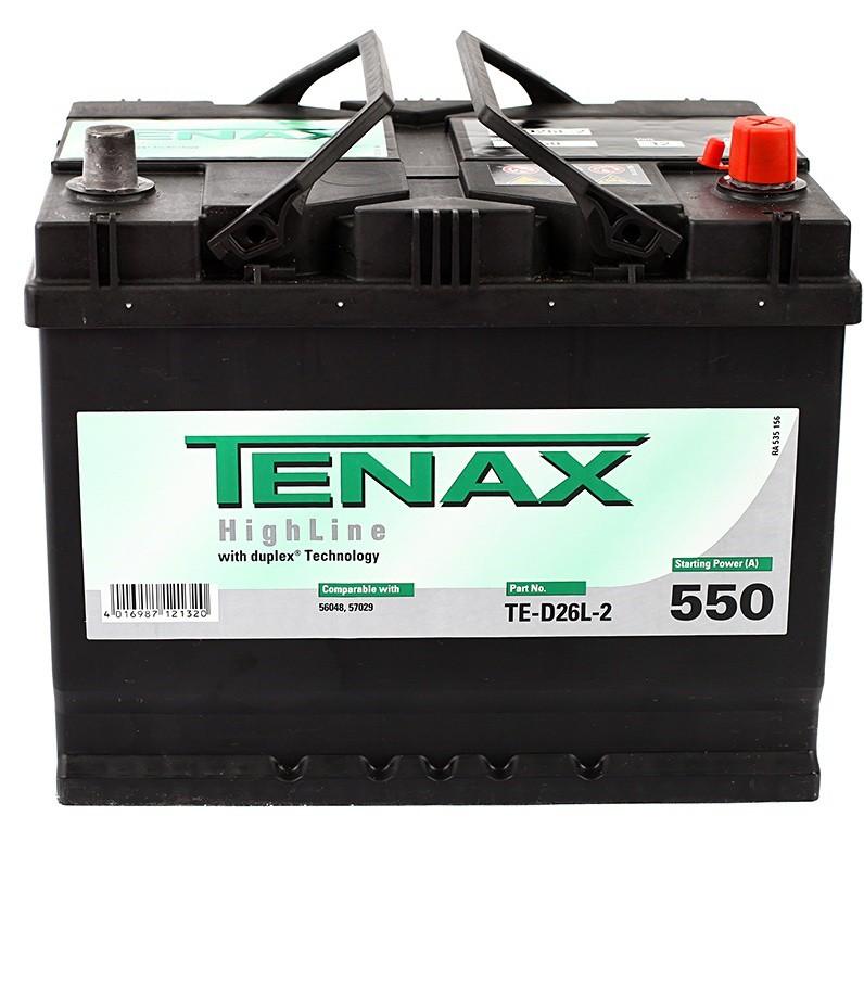 Аккумулятор TENAX HIGH 68е А/ч о.п. TE-D26L-2 выс.