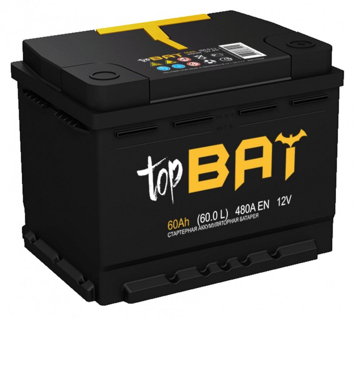 Аккумулятор topbat 6СТ-55.0 L