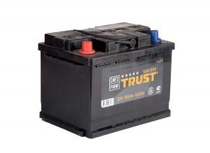 560 009 MF Аккумулятор TRUST Platinum 60 А/ч+R (низк)