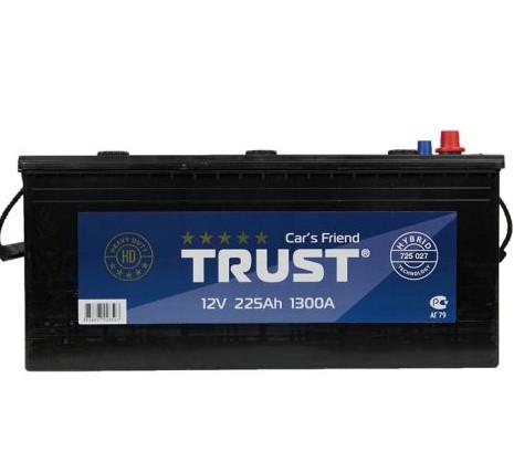 725 027 Аккумулятор TRUST 225 А/ч+L (3) + слева