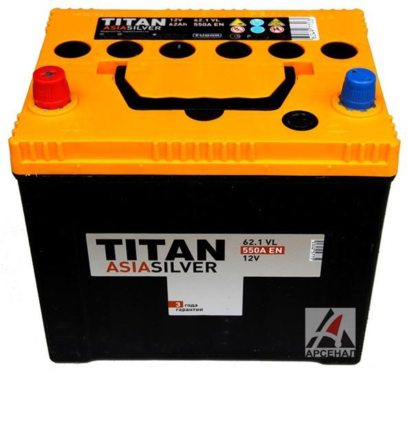 Аккумулятор TITAN ASIASILVER 6СТ-47.0 VL