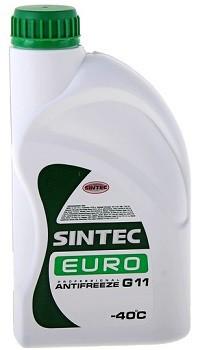 Антифриз SINTEC EURO (зеленый)  G11, 1 кг