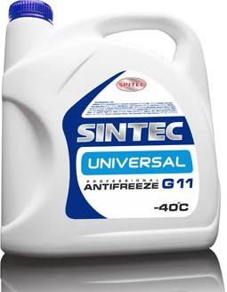 """Антифриз SINTEC UNIVERSAL G11 (синий) """"4"""", 5 кг"""