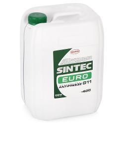 Антифриз SINTEC EURO (зеленый)  G11, 10 кг