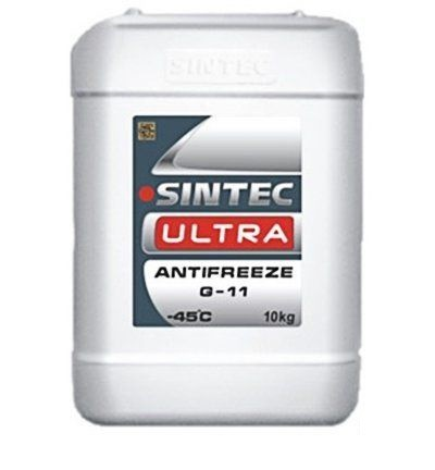 Антифриз SINTEC ULTRA G11 (красный), 10 кг