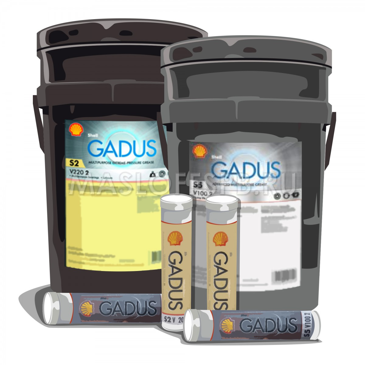 Смазка Shell Gadus S3 T220 2